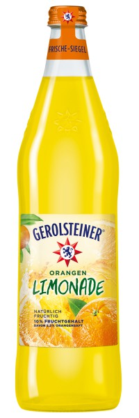 Gerolsteiner Limonade Orange 12x0.75l PET
