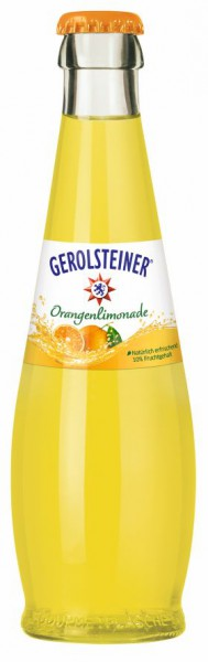 Gerolsteiner Limonade Orange 24x0.25l Gourmet