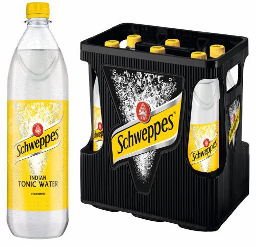 Schweppes Tonic Water 6x1.0l PET